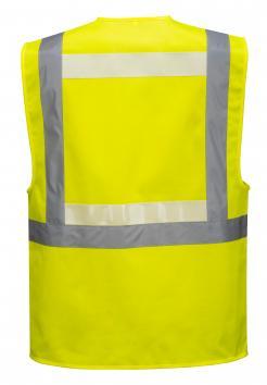 light emitting safety vest