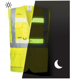 glow in the dark safety vest