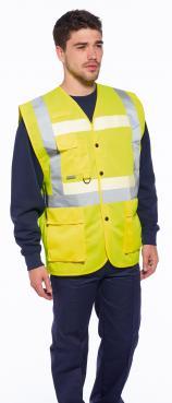 illuminated safety vests