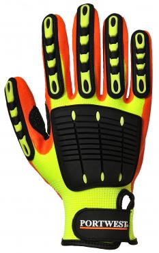 Anti Impact Grip Glove - Nitrile singapore