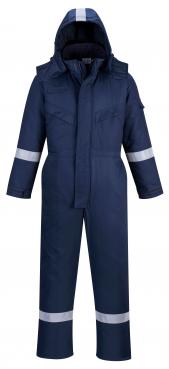 flame resistant winter coverall