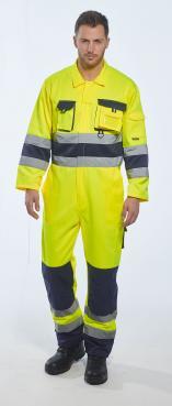 yellow hi vis overalls singapore