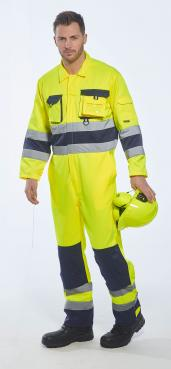high visibility yellow coveralls singapore