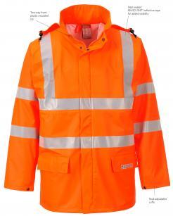 FR rain suits