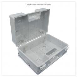 first aid box a b c