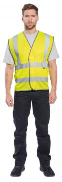 Customisable Hi-Visibility reflective safety vest singapore