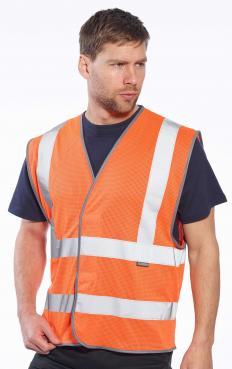 orange mesh safety vest singapore