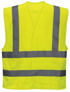 Customisable Hi-Visibility reflective safety vest