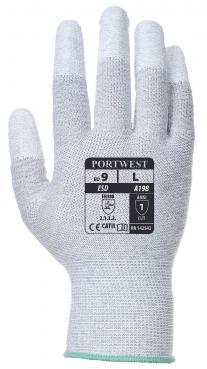 pu finger coated gloves singapore