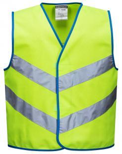 childrens high visibility waistcoats