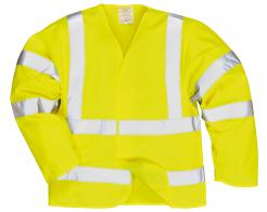 Hi-Vis Anti Static Jacket - Flame Resistant