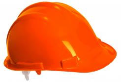 Orange PP Safety Helmet