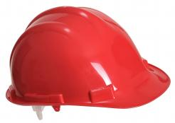 Red PP Safety Helmet
