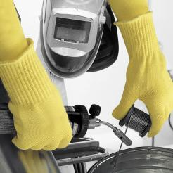 POLYCO VOLCANO HEAVYWEIGHT KEVLAR HEAT RESISTANT GLOVES singapore