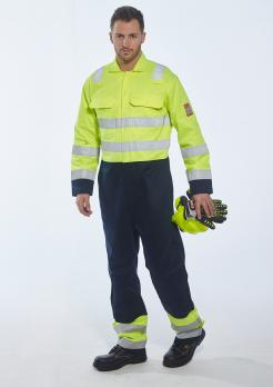 Hi-Vis Anti-Static Bizflame Pro Coverall singapore