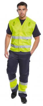 flashing led safety vest