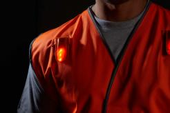 lighted traffic safety vest