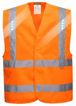 safety vest with built in led