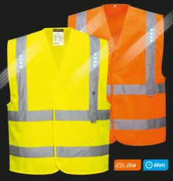 hi vis vest with led lights singapore