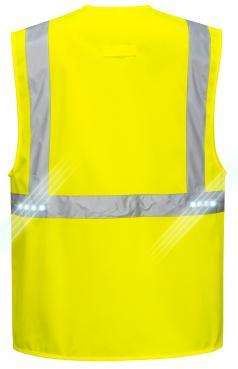 hi vis vest with led lights