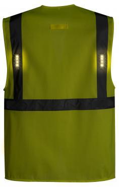 hi vis vest with led lights singapore