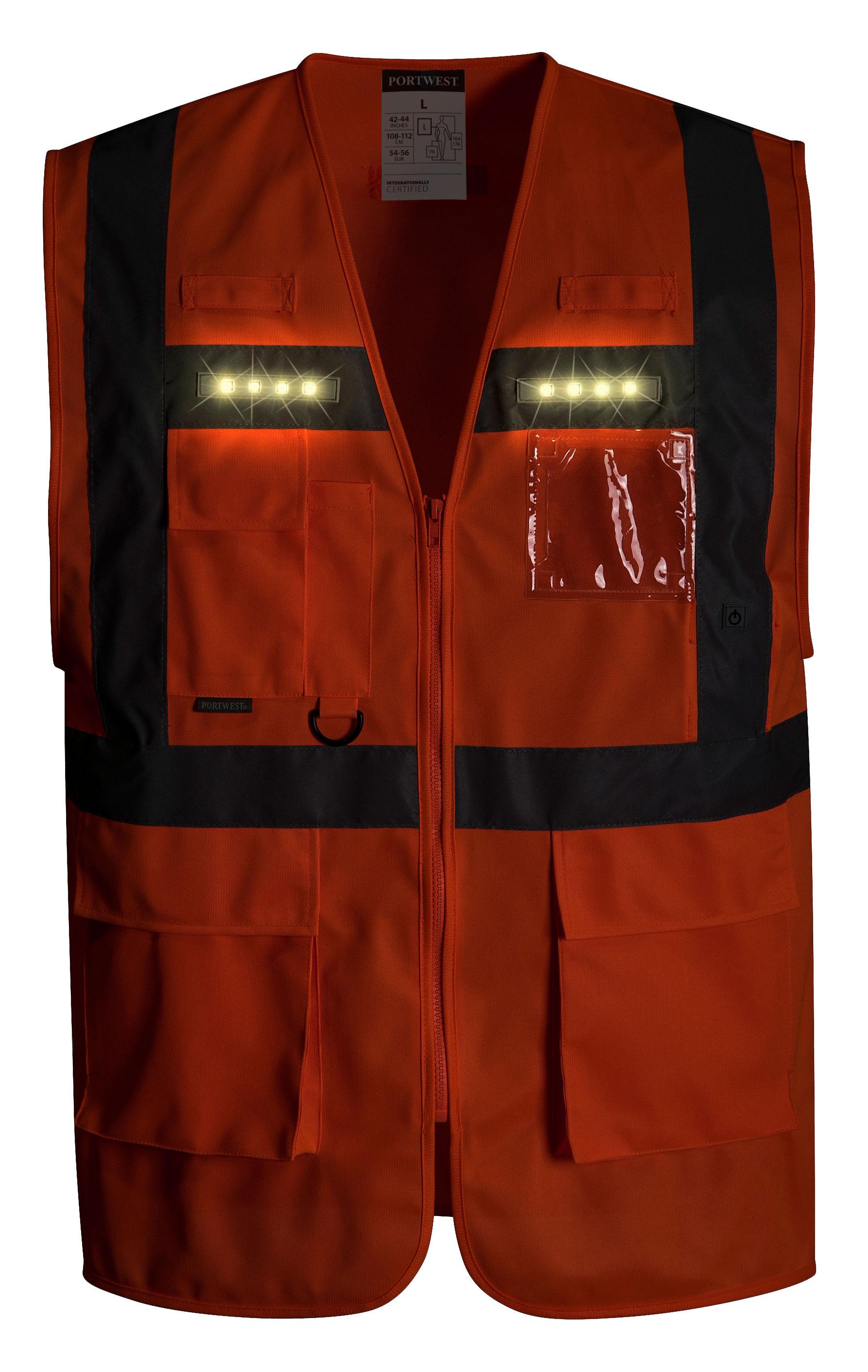 Northrock Safety Flashing Led Safety Vest Flashing Led