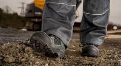 lightweight composite toe work boots