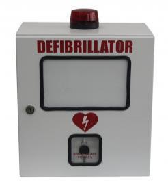 defibrillator aed cabinet with alarm