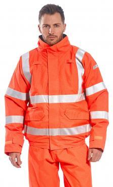 flame resistant rain coat