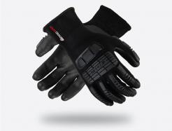 MadGrip Ergo Impact Foam Nitrile Palm Glove Grey/Black Singapore