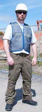 cooling vest for working outside
