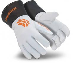 HexArmor 4062 Chrome SLT Extended Safety Cuff and Goatskin Leather Palm High Dexterity singapore