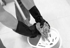 Black Polychloroprene rubber industrial gloves singapore