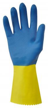 GI/6406 Black Polychloroprene rubber industrial gloves