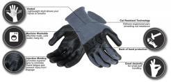 MadGrip Pro Palm Plus Cut Glove singapore