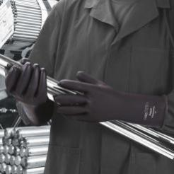 Polyco Chemprotec Black Rubber Gloves singapore