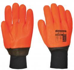 Weatherproof Hi - Vis Glove - PVC