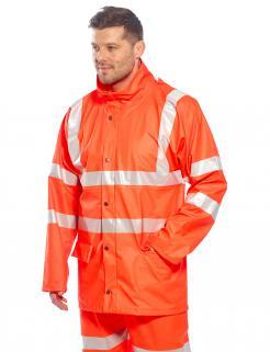 waterproof high vis jacket