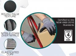 nitrile palm coated gloves singapore