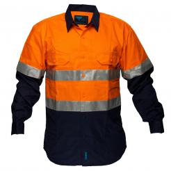 flame resistant high visibility shirt