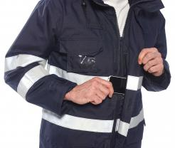 chemicals flame rain resistant clothing