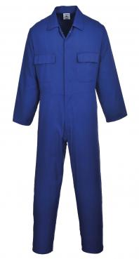royal blue coveralls