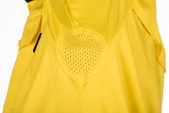 Long Sleeve Hi-Vis Two Tone Cotton Shirt with Reflective Tapes plus under arm and back cape vents