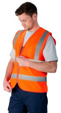 safety vest with zip singapore