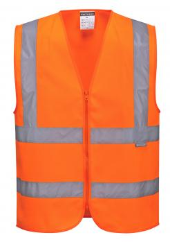 Hi-Vis Zipped Band & Brace Vest singapore