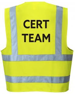 CERT team vest