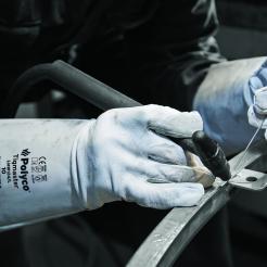 Tigmaster Sheepskin / leather welding gauntlet