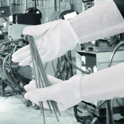 Tigmaster Sheepskin / leather welding gauntlet singapore