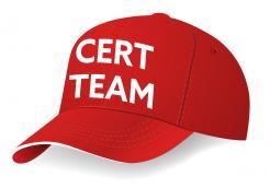 CERT Team cap