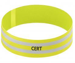 Yellow CERT Armband
